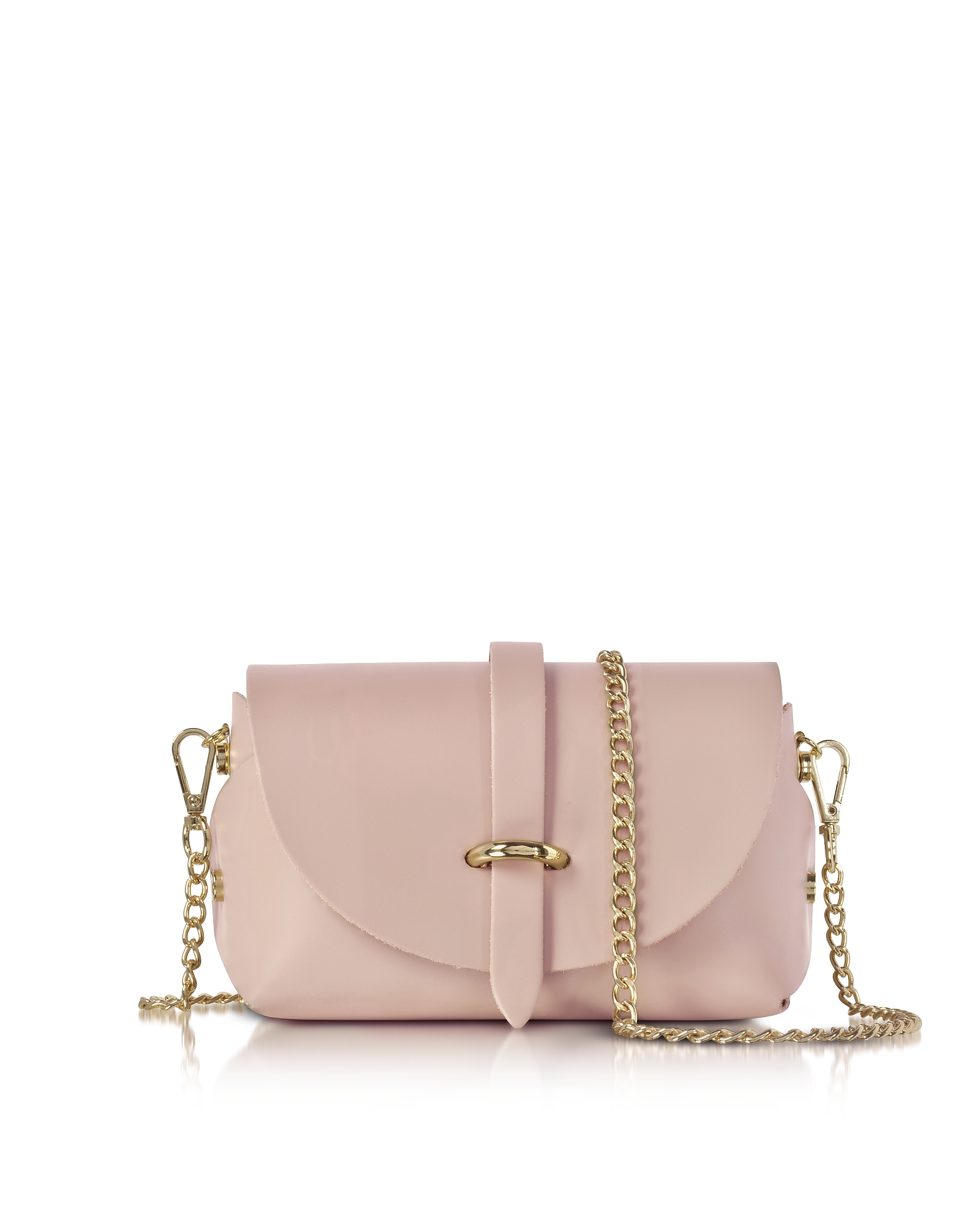 Le Parmentier Handbags, Caviar Candy Pink Leather Mini Shoulder Bag