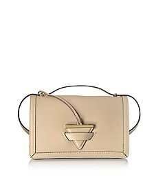 Diodora Shoulder Bag w/Golden Triangle Charm  - Le Parmentier
