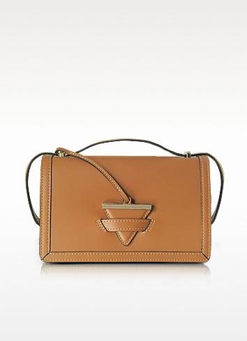Diodora Shoulder Bag w/Golden Triangle Charm  - Le Parmentier