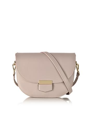 Le Parmentier - Clio Smooth Leather Shoulder Bag w/Flap
