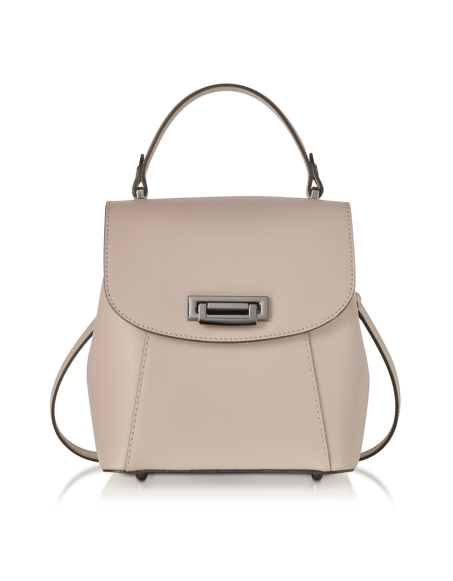 f0e4b4b81f3 Le Parmentier Designer Handbags, Venus Leather Convertible Satchel Backpack