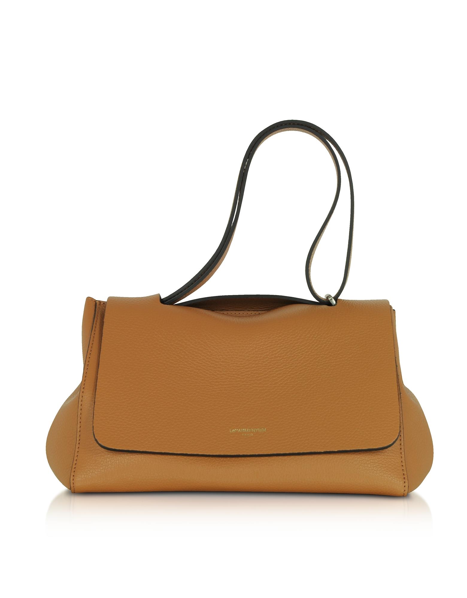 Le Parmentier Handbags, Ciprea Hammered Leather Satchel Bag