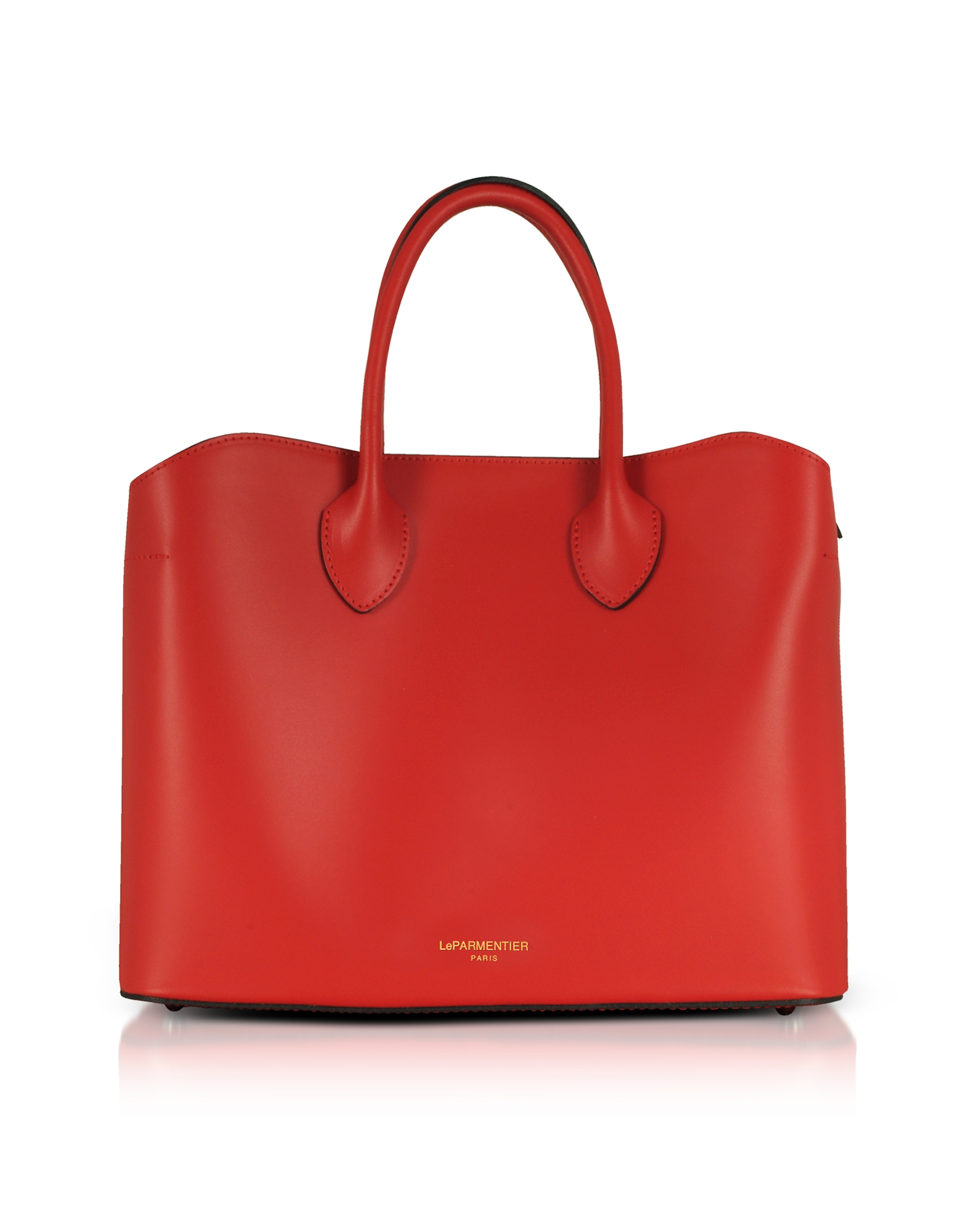 Le Parmentier Designer Handbags, Jackie Leather Tote Bag