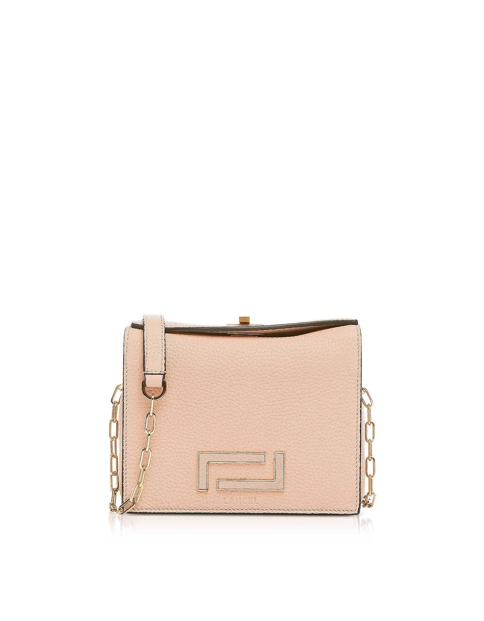 Lancel Designer Handbags, Pia Mini Chain Shoulder Bag