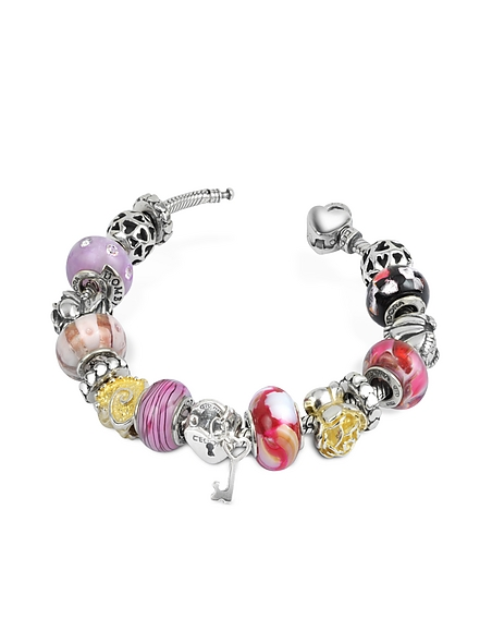Tedora Amore e passione - Romantisches Armband aus Sterling Silber