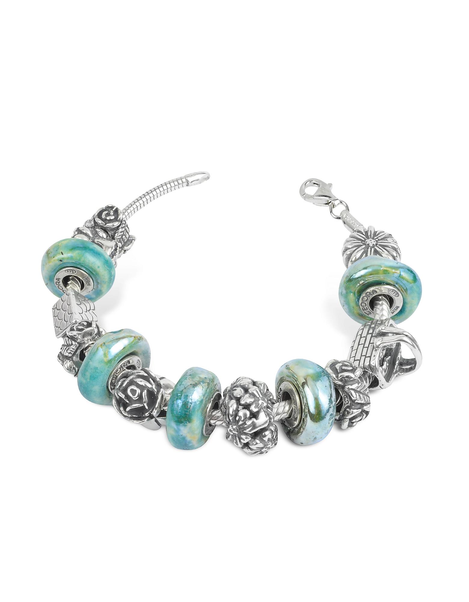 Tedora Bracelets, Sterling Silver Garden Bracelet