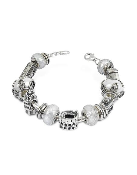 Tedora Carnet de voyage - Bracelet en argent fin