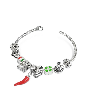 Tedora - Sterling Silver Italian Journey Bracelet