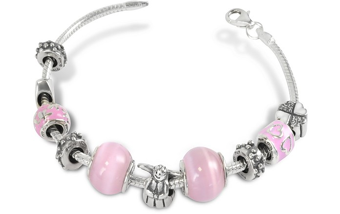 Sterling Silver Baby Girl Bracelet - Tedora