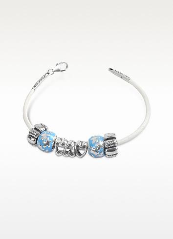 Baby Boy Sterling Charm Bracelet - Tedora