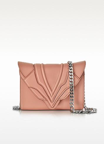 Felina Mignon Sensua Blush Leather Clutch - Elena Ghisellini