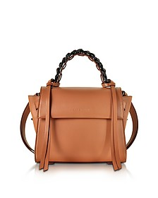Small Angel Sensua Canyon Leather Satchel Bag - Elena Ghisellini