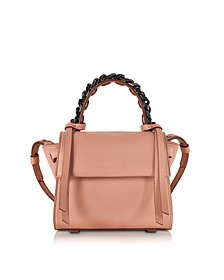 Mini Angel Sensua Blush Leather Satchel Bag - Elena Ghisellini