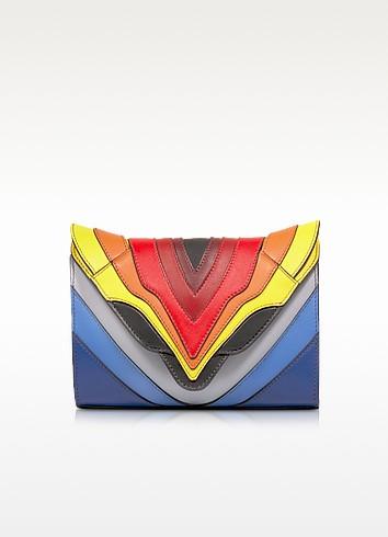 Felina Mignon Rainbow Flag Multicolor Leather Crossbody - Elena Ghisellini