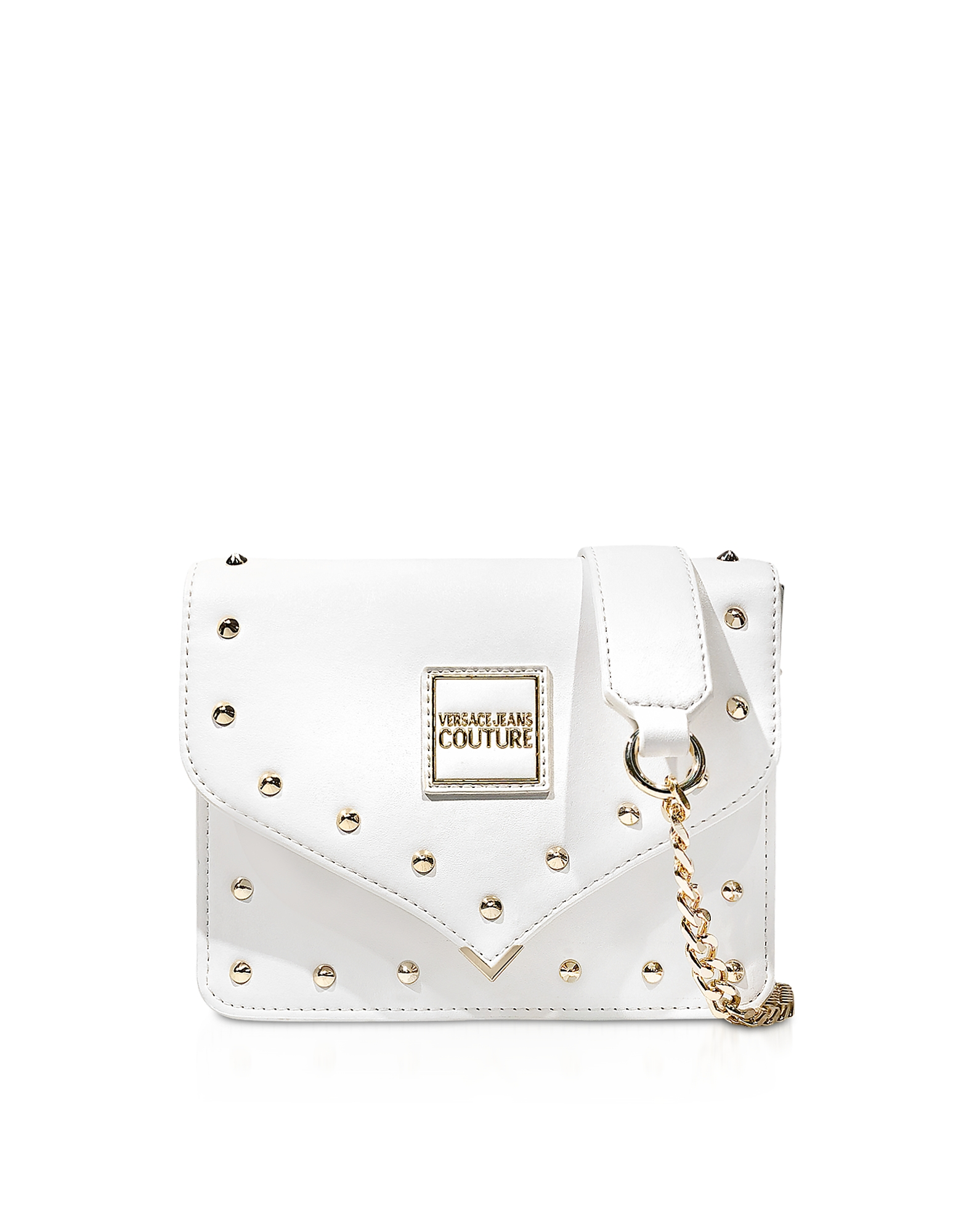 Versace Jeans Couture  Handbags Nappa Crossbody Bag w/Studs