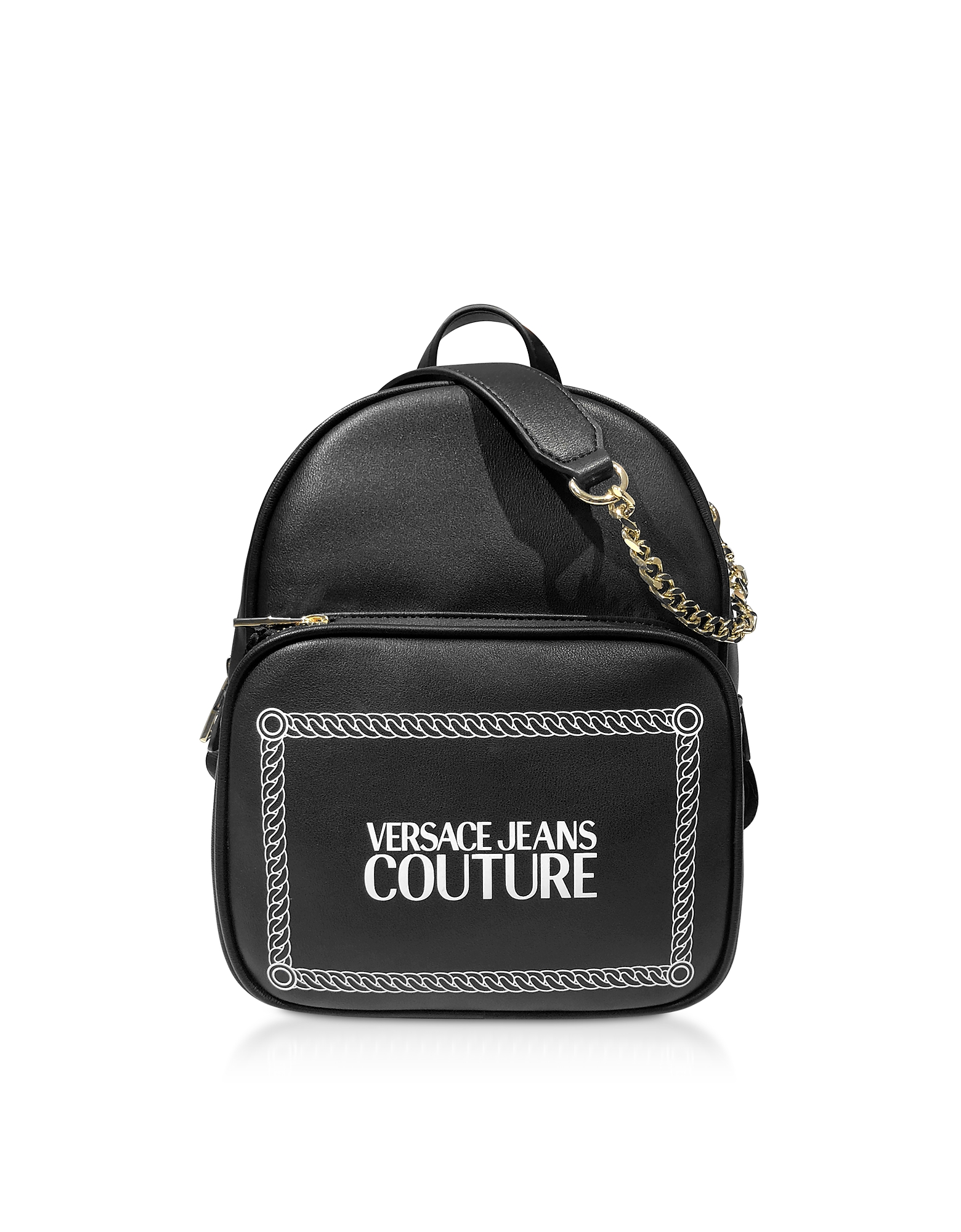 Black and White Signature Backpack