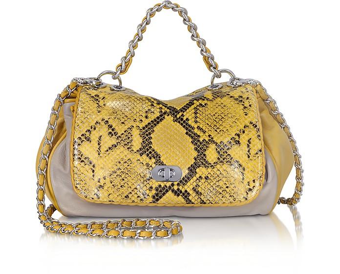 Tammie Mid Leather Shoulder Bag - Elie Tahari