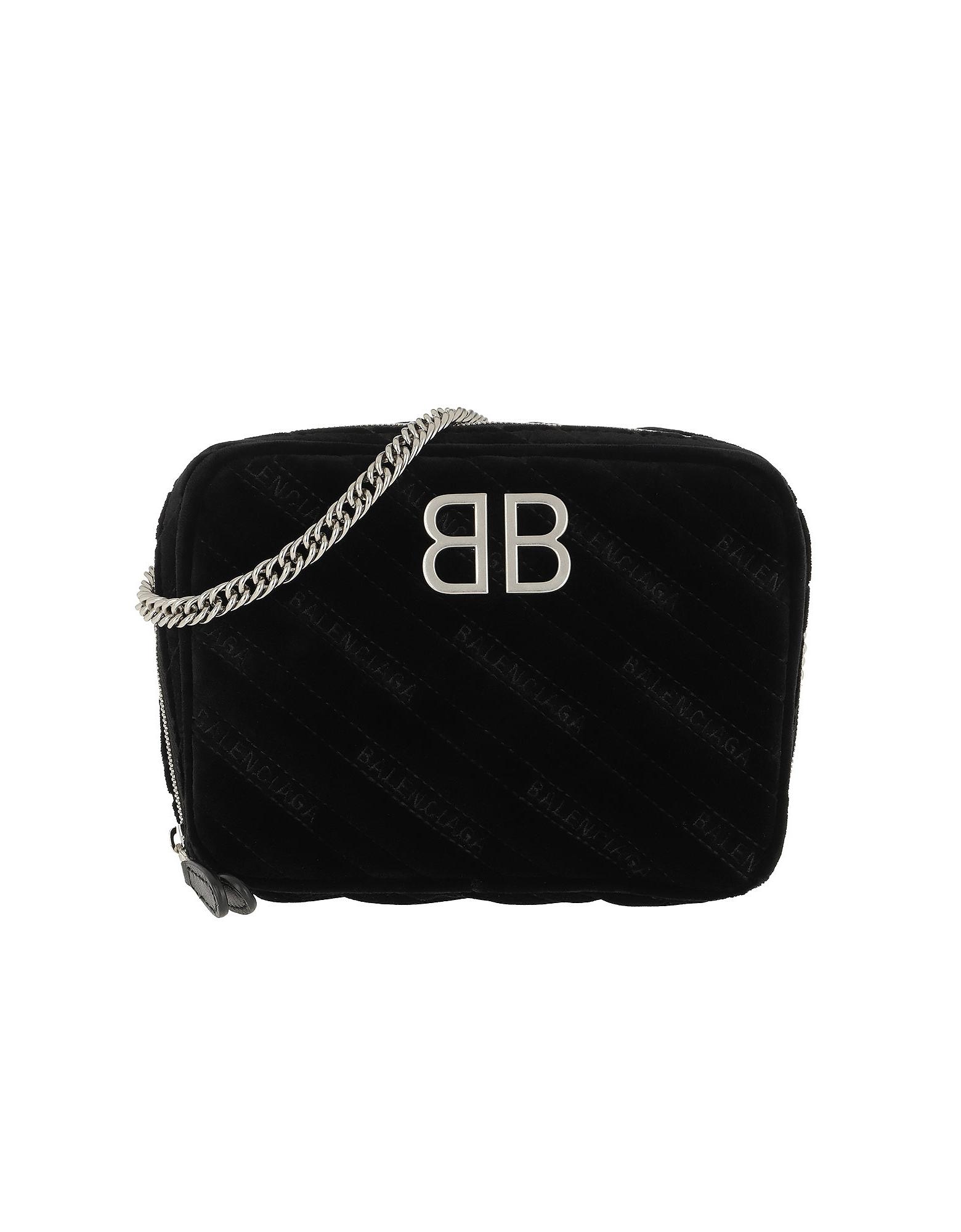BB Camera Bag Leather Black