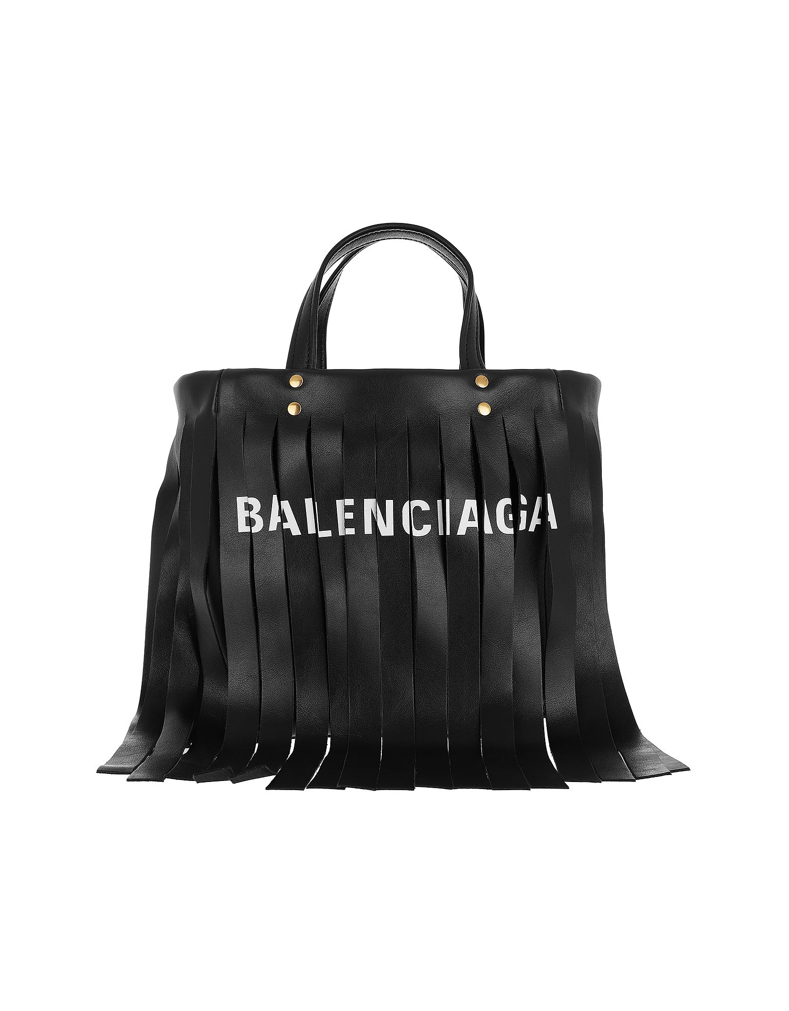 Balenciaga Handbags, Laundry Cabas XS Shoulder Bag Black