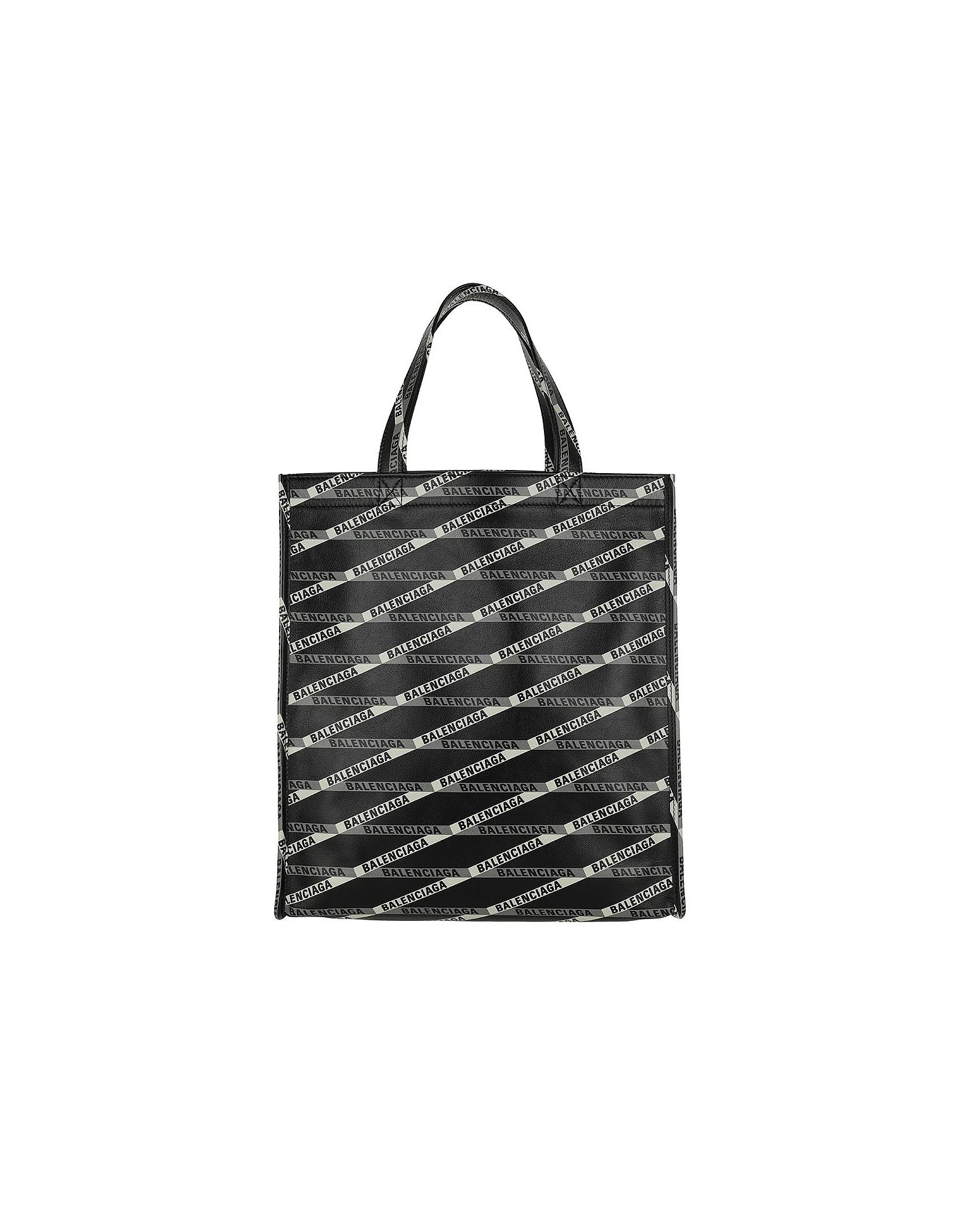 Balenciaga Handbags, Market Shopper S Noir/Gris