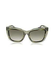BA0027 Acetate Square Women's Sunglasses - Balenciaga