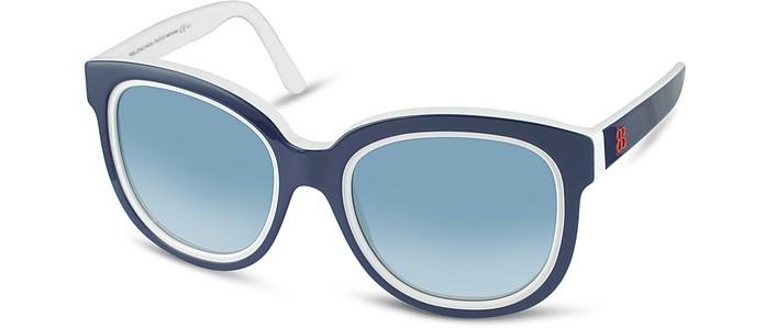 Two-Tone Teacup Sunglasses - Balenciaga