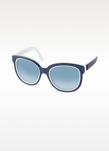 Two-Tone Teacup Sunglasses - Balenciaga