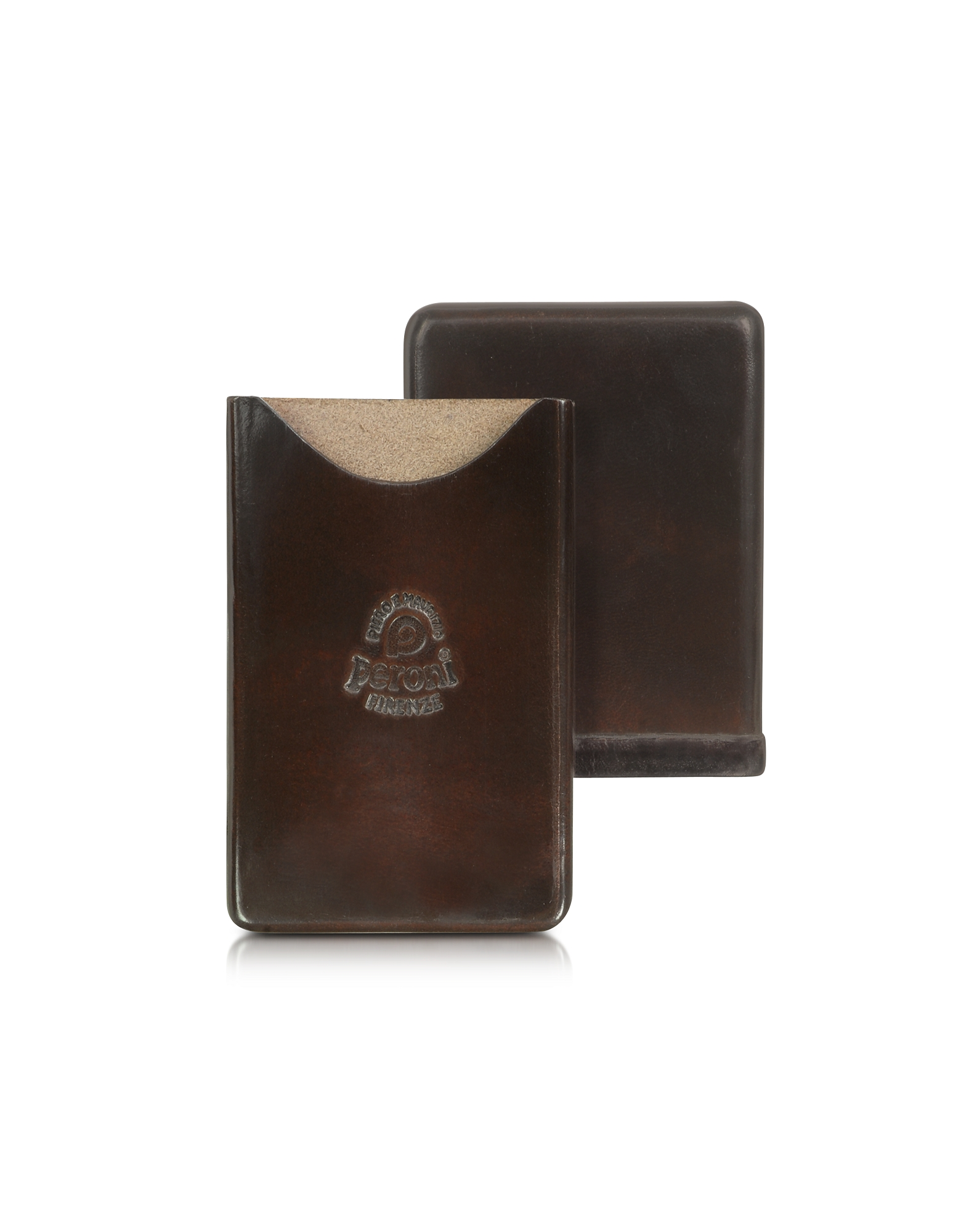 Peroni Small Leather Goods, Genuine Leather Card Case