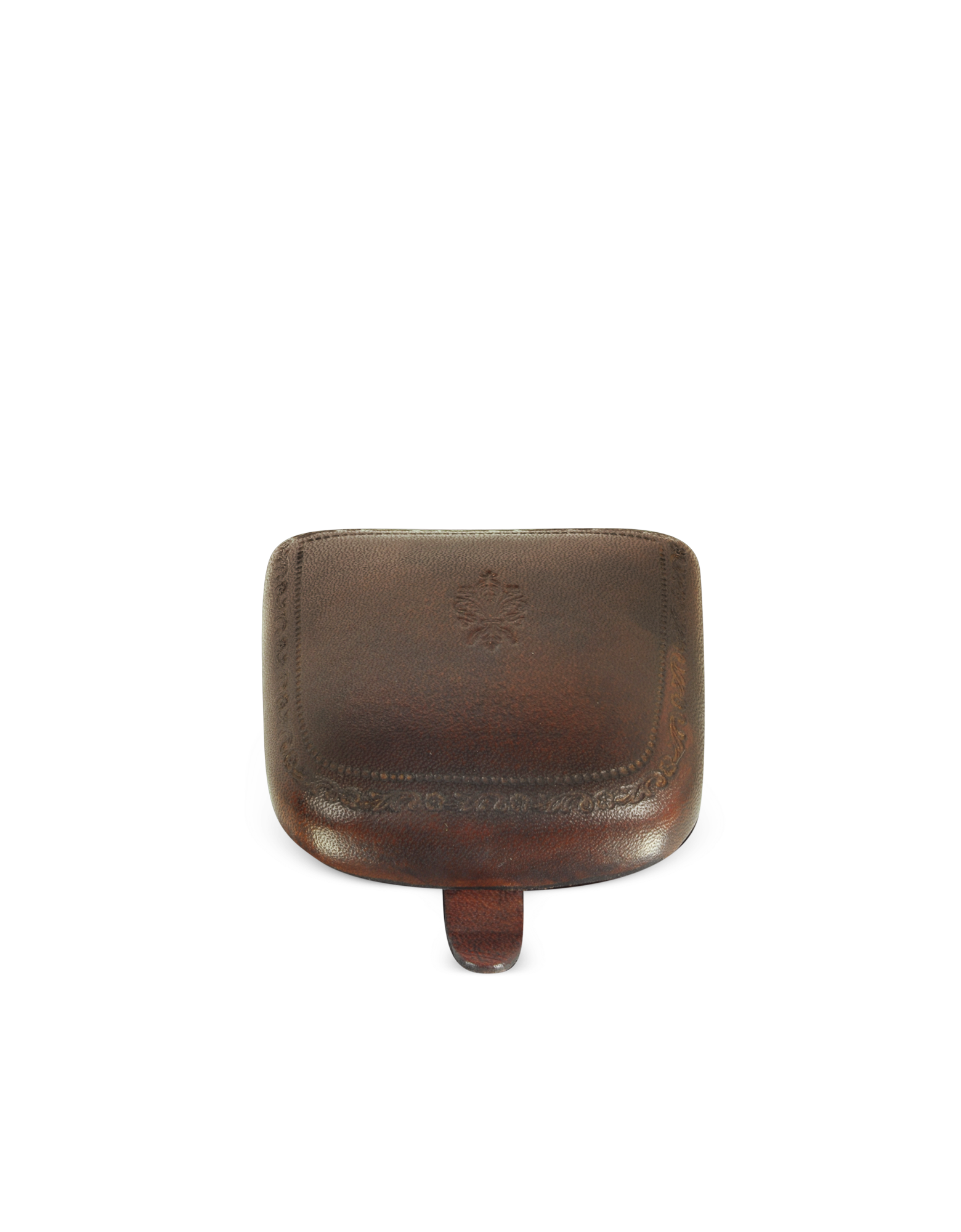 Image of Brown Leather Coin Purse
