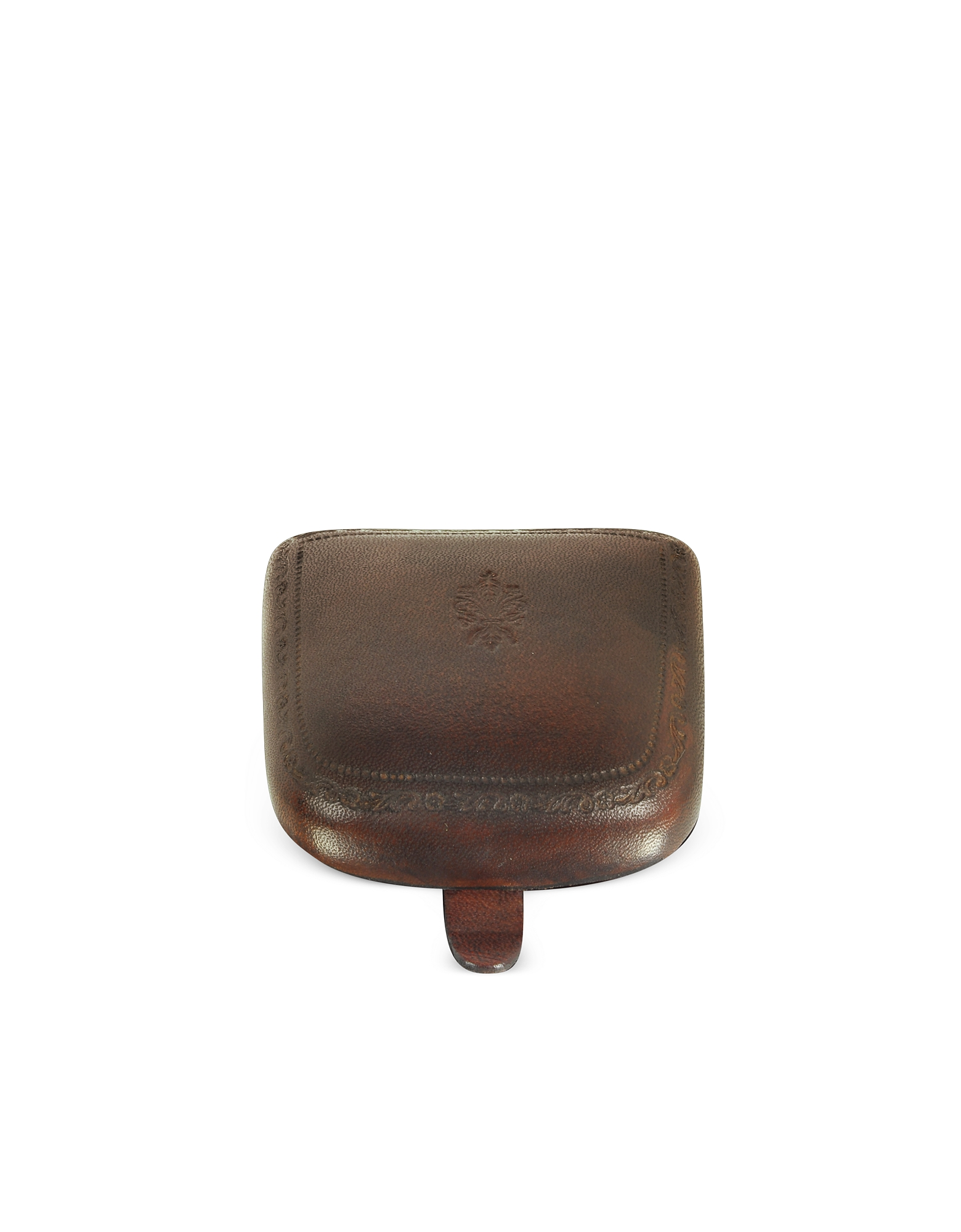 Peroni Small Leather Goods, Brown Leather Coin Purse