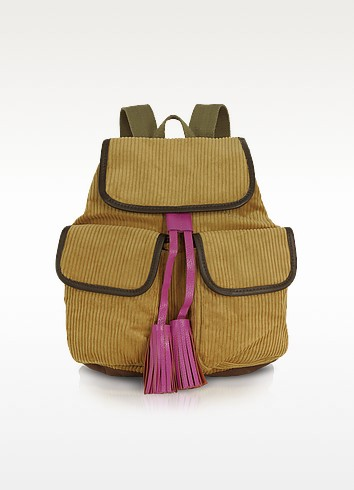 Manhattan Line - Corduroy Backpack - Bensimon Collection