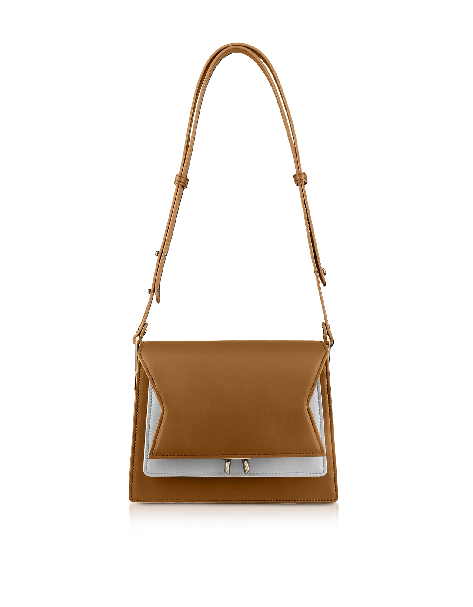Lara Bellini  Handbags Two-Tone XOXO Shoulder Bag