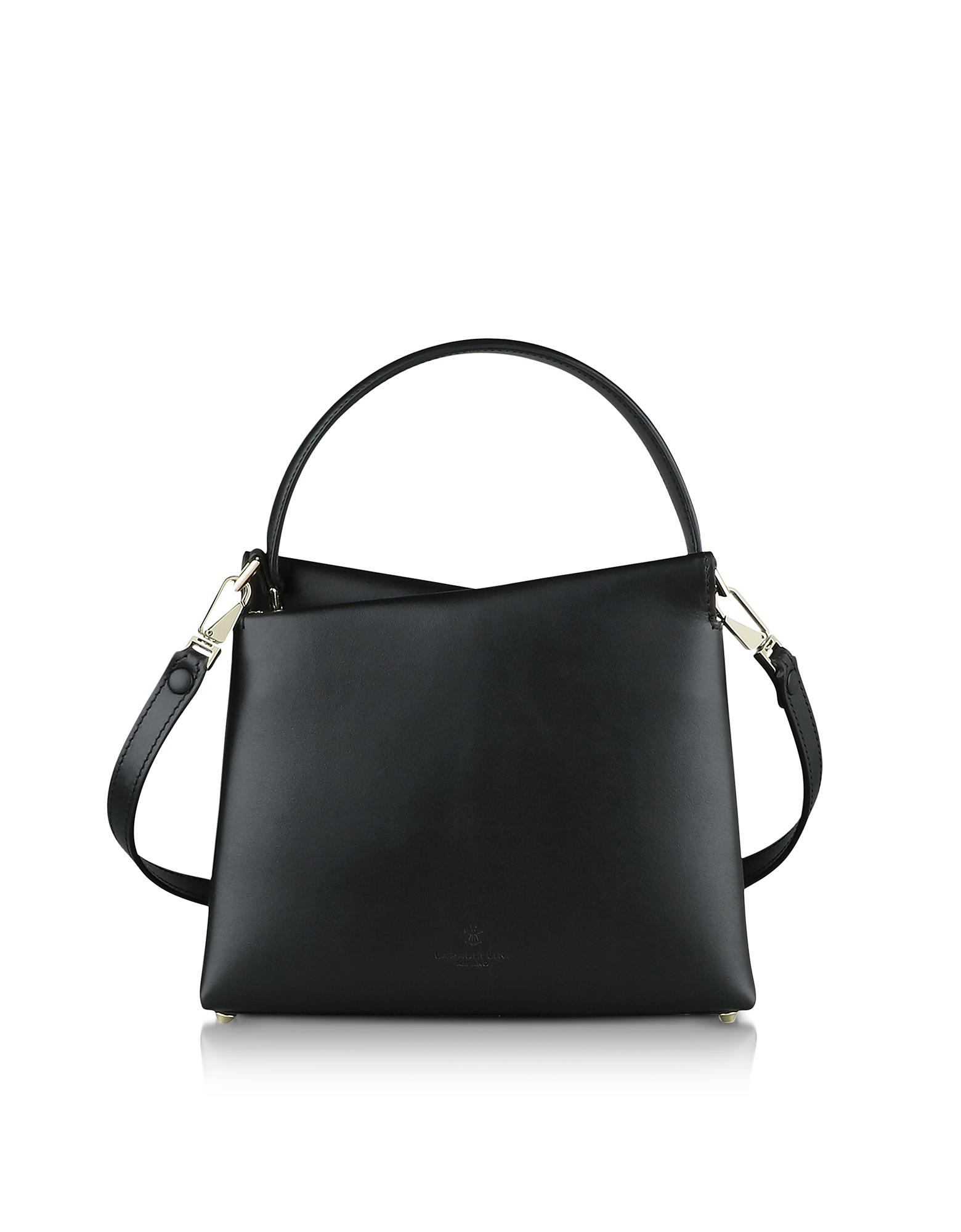 Genuine Leather Vela Mini Top Handle Bag