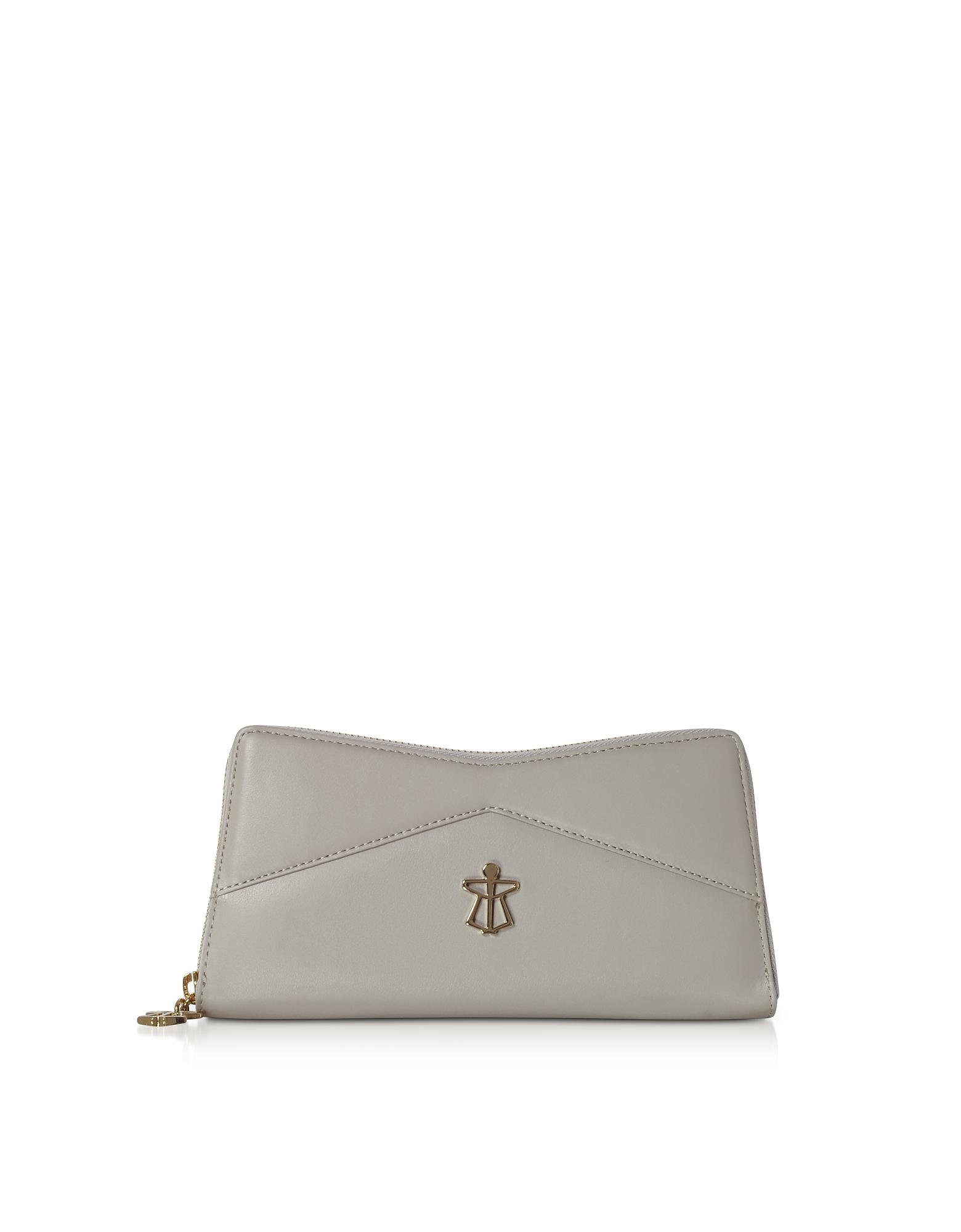 Zip Around Leather Continental Lara Wallet