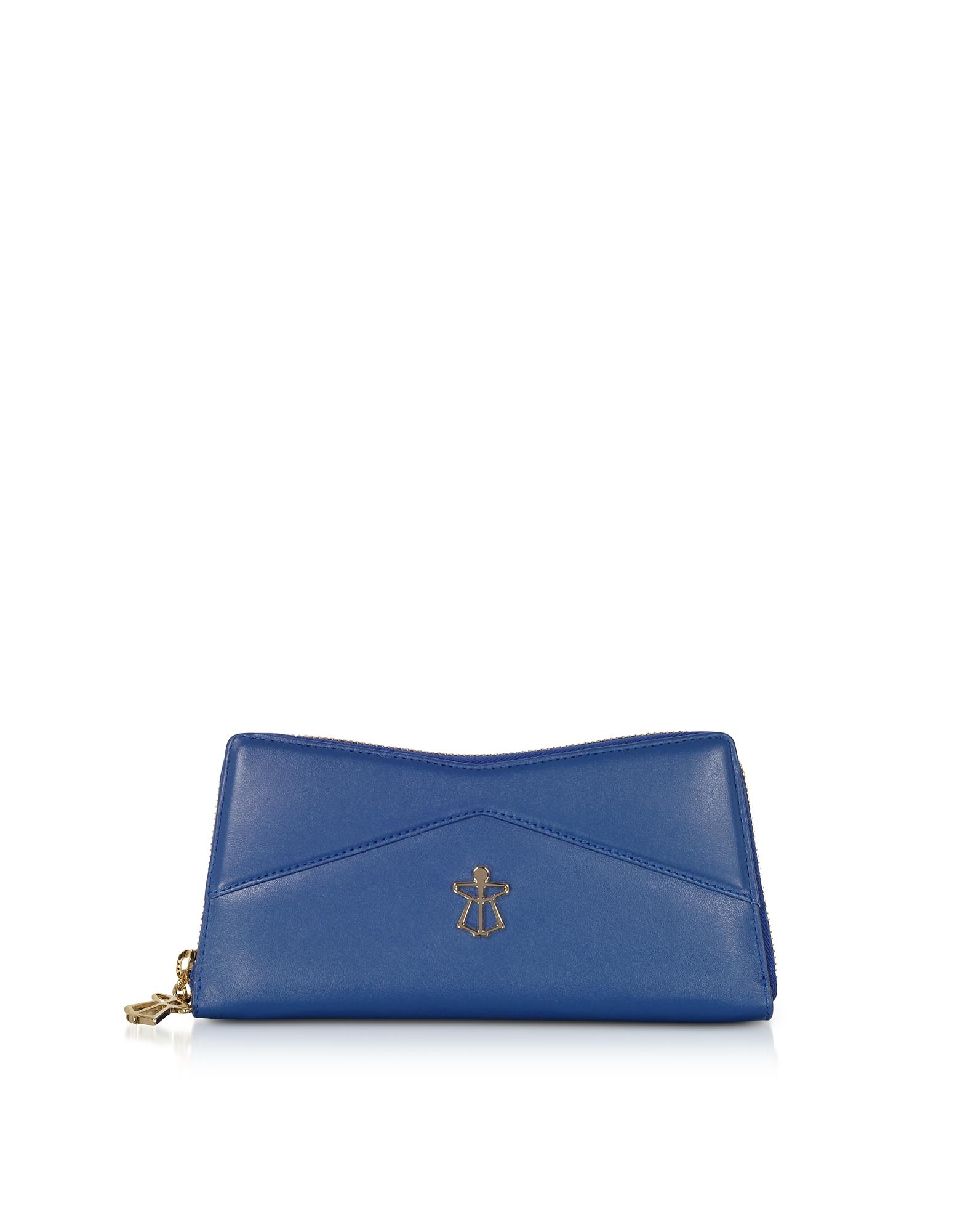 Lara Bellini  Handbags Zip Around Leather Continental Lara Wallet