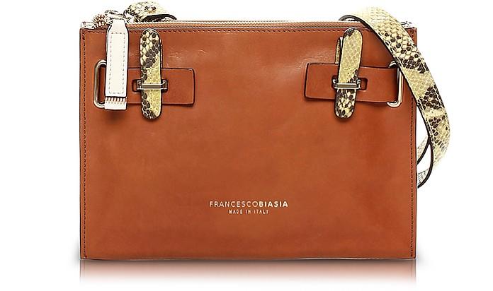 Hampstead Color Block Leather Crossbody Bag - Francesco Biasia