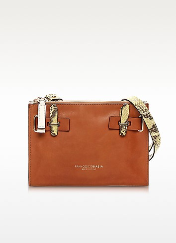 Hampstead Color Block Leather Crossbody Bag - Francesco Biasia
