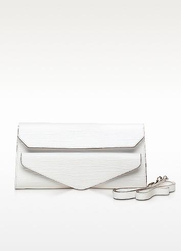 Kenton Leather Clutch w/Shoulder Strap - Francesco Biasia