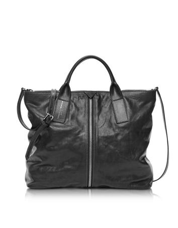 Harlem Caramba Leather Tote w/Shoulder Strap