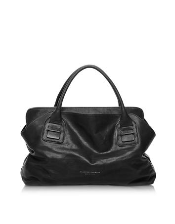 Vendome Haircalf and Leather Tote