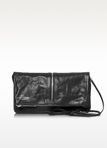 Harlem Foldable Leather Crossbody Bag - Francesco Biasia