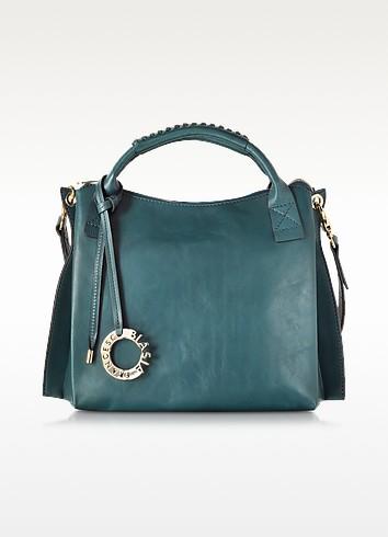 Gardenia Genuine Leather Handbag - Francesco Biasia