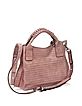 Gardenia Leather Handbag w/Shoulder Strap - Francesco Biasia