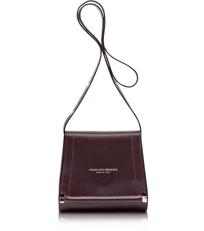 Narciso Lizard Embossed Leather Crossbody Bag - Francesco Biasia