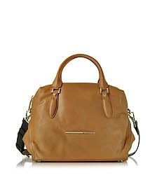 Jasmine Leather Satchel Bag - Francesco Biasia
