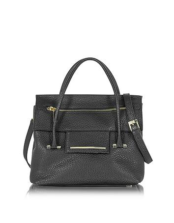 Nora Hammered Leather Satchel Bag