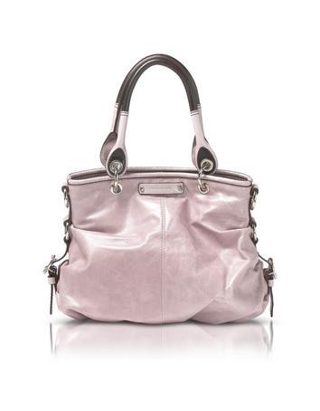 Foto der Handtasche Francesco Biasia Amandine - Umhaengetasche aus Leder in puderfarben