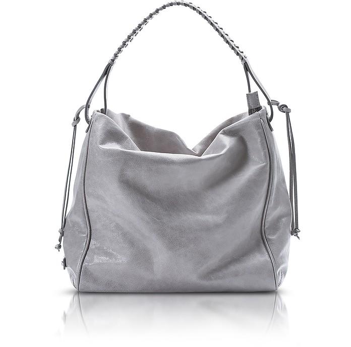 Demetra - Leather Hobo Bag - Francesco Biasia