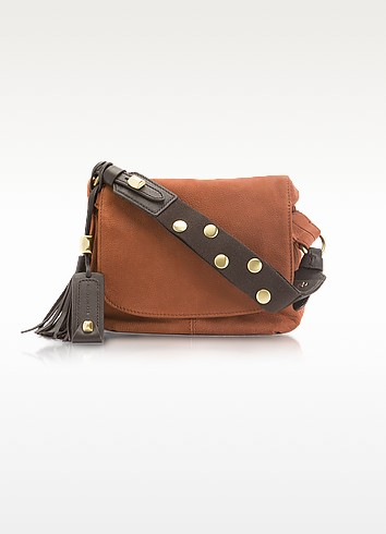 Bianca - Nabuk Shoulder Bag - Francesco Biasia