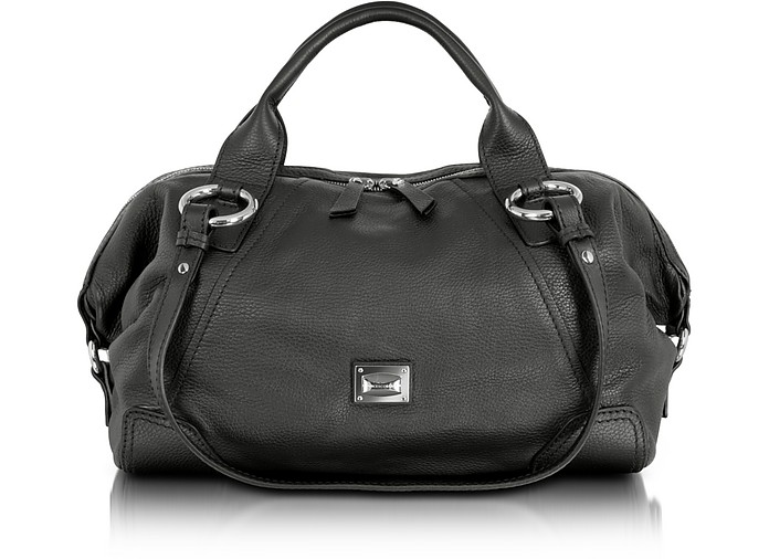 Daria - Large Leather Satchel Bag - Francesco Biasia